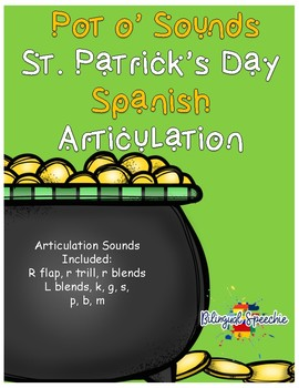 Pot Of Sounds Spanish Articulation