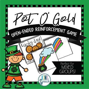 Pot o' Gold Builder: Open Ended Game: Great for Speech and