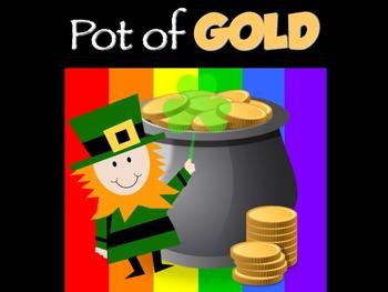 Pot of GOLD - Music Assessment Game! 1st Grade