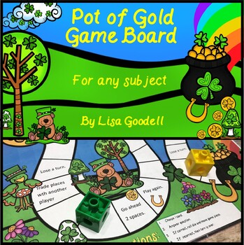 Pot of Gold Game Board for Any Subject