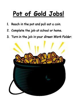 Pot of Gold Jobs