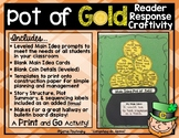 Pot of Gold Reading & Writing Craftivity for Main Idea, St