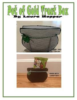 Pot of Gold Treat Box (St. Patrick's Day craft)