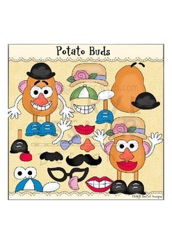 Potato Buds Clipart Collection