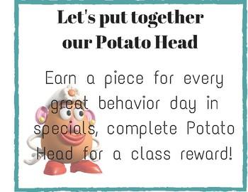 Potato Head Sign