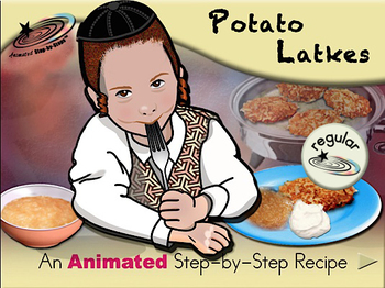 Potato Latkes - Animated Step-by-Step Recipe