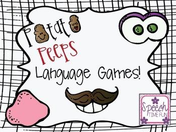 Potato Peeps Language Games