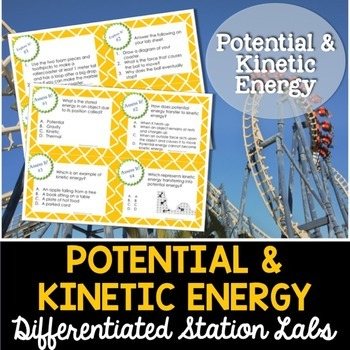 Potential and Kinetic Energy Student-Led Station Lab