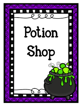 Potion Shop (Dramatic Play)