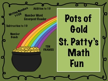 Pots of Gold St. Patty's Day Math