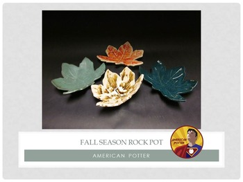 Pottery: Fall Theme Rock Pot