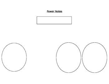 Power Notes Graphic Organizer