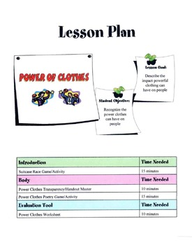 Power Of Clothes Lesson