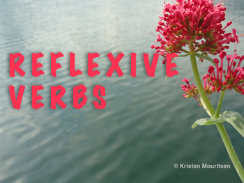 Power Point Introduction to Reflexive Verbs
