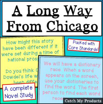 A Long Way From Chicago Literary Unit Power Point