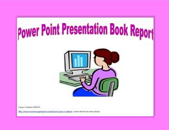 Power Point Presentation Book Report