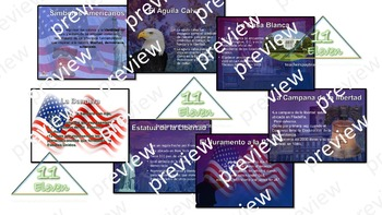 "Power Point Presentation "" Simbolos Americanos"" (Spanish)"