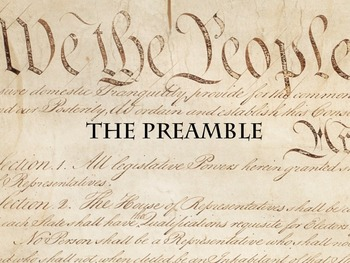 Power Point - The Preamble