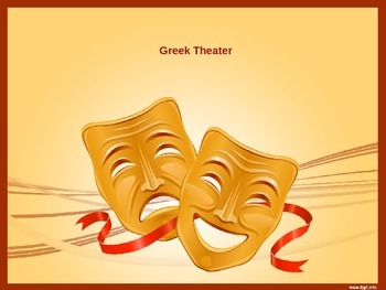 Power Point presentation on Oedipus Myth and Greek Theater