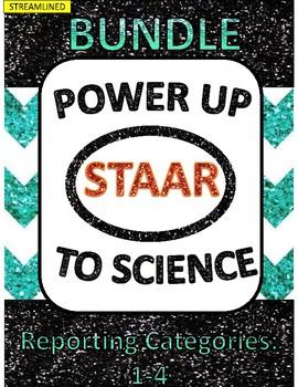 Power Up to Science STAAR:  Bundle