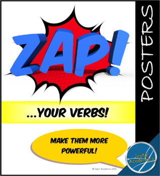 Power Verbs Mini-Posters