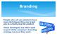 Power of Branding PowerPoint presentation