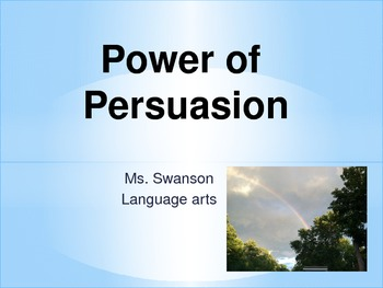 Power of Persuasion PowerPoint
