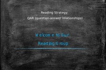 Power point: Reading Strategy: QAR
