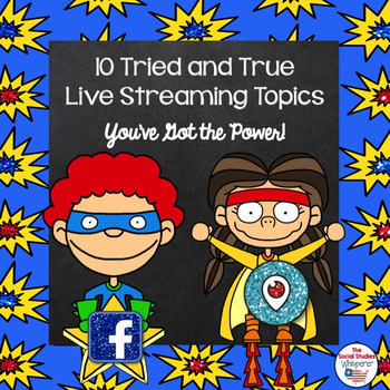 Power to Live Stream: 10 Topic Ideas