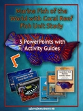 PowerPoints, Study Guides & Notebook Templates: Marine Fis