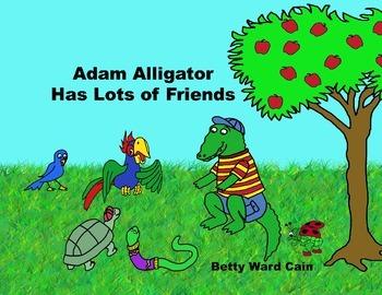 Audio Picture Book PowerPoint ADAM ALLIGATOR HAS LOTS OF F