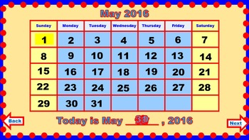 PowerPoint Calendar for May