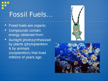 PowerPoint:  Fossil Fuels