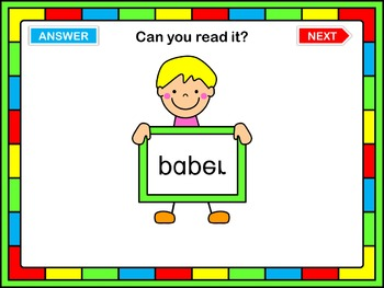 Back to school PowerPoint Game  Can you read it?