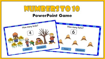 PowerPoint Game - Numbers to 10