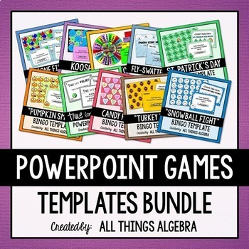 PowerPoint Game Template Super Pack