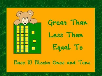 PowerPoint: Greater Than Less Than or Equal To With Base 1