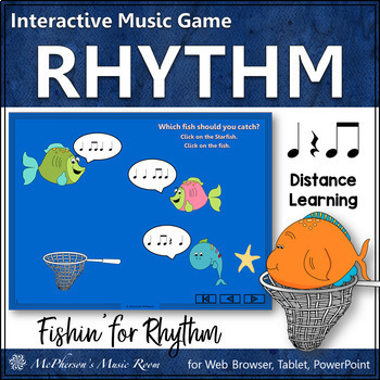 Fishin' for Rhythm: Eighth Notes (Interactive Music Game)