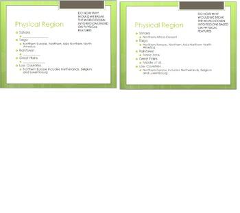 PowerPoint On Regions