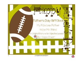 PowerPoint Packet of Father's Day Gift Idea: My Fabulous F