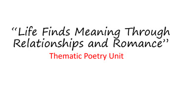 PowerPoint Poetry Analysis & Bios:  John Donne, Andrew Mar