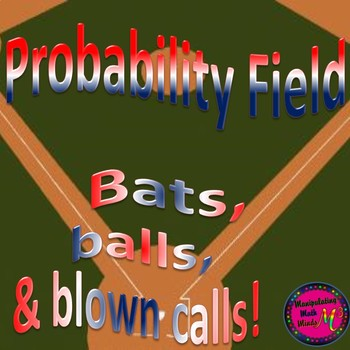PowerPoint Probability Baseball themed game - Great unit o