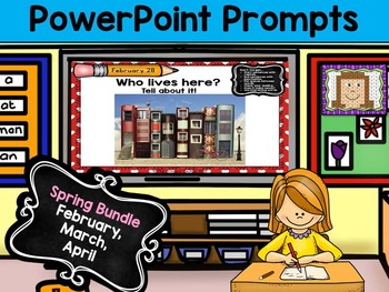 PowerPoint Prompts - Spring Bundle