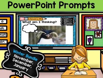 PowerPoint Prompts - Winter Bundle