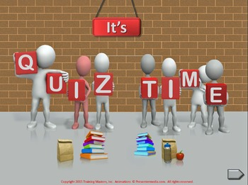 PowerPoint Quiz Templates Set A (10 Templates)