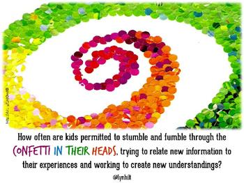 PowerPoint Slide - Confetti in Their Heads