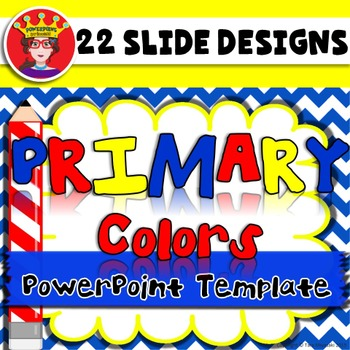 PowerPoint Template Primary Colors