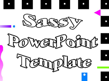 PowerPoint Template Sassy Designs