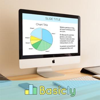 PowerPoint Template for Classroom Teachers - Basic Blue (C