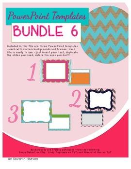PowerPoint Templates - Bundle #6